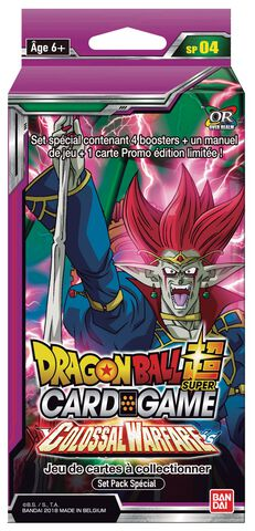 Special Pack - Dragon Ball Super - Série 4 : Colossal Warfare
