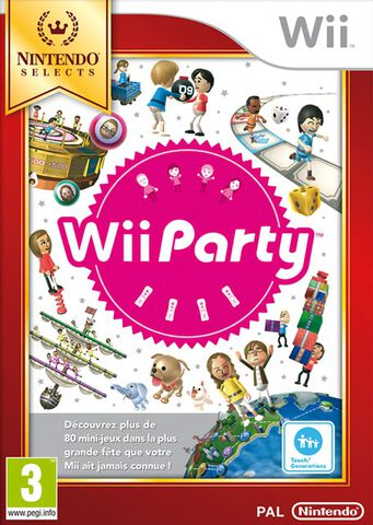 Wii Party Select