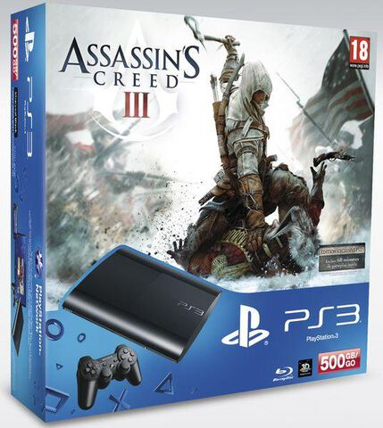 Pack Ps3 500 Go + Assassin's Creed III