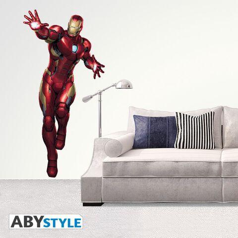 Sticker - Iron Man - Iron Man - Taille réelle