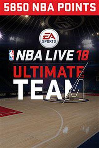 Dlc NBA Live 18 Ultimate Team 5 850 Pts Xbox One