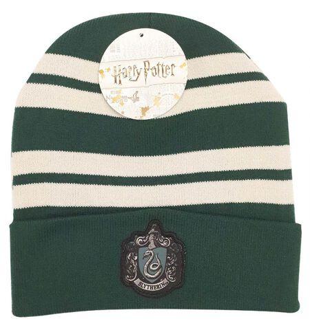 Bonnet - Harry Potter - Serpentard - Taille unique Vert / Gris