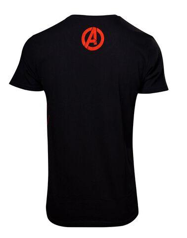 T-shirt - Avengers - Constructivism Poster Men's - Taille S