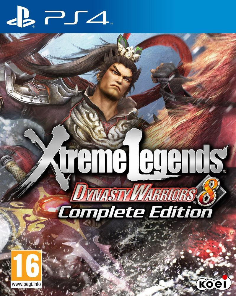 Dynasty Warriors 8 Xtreme Legends Edition compl�te PS4