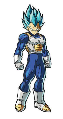 Figpin N°117 - Dragon Ball Z - Fighter Z Super Saiyan God Super Saiyan Vegeta