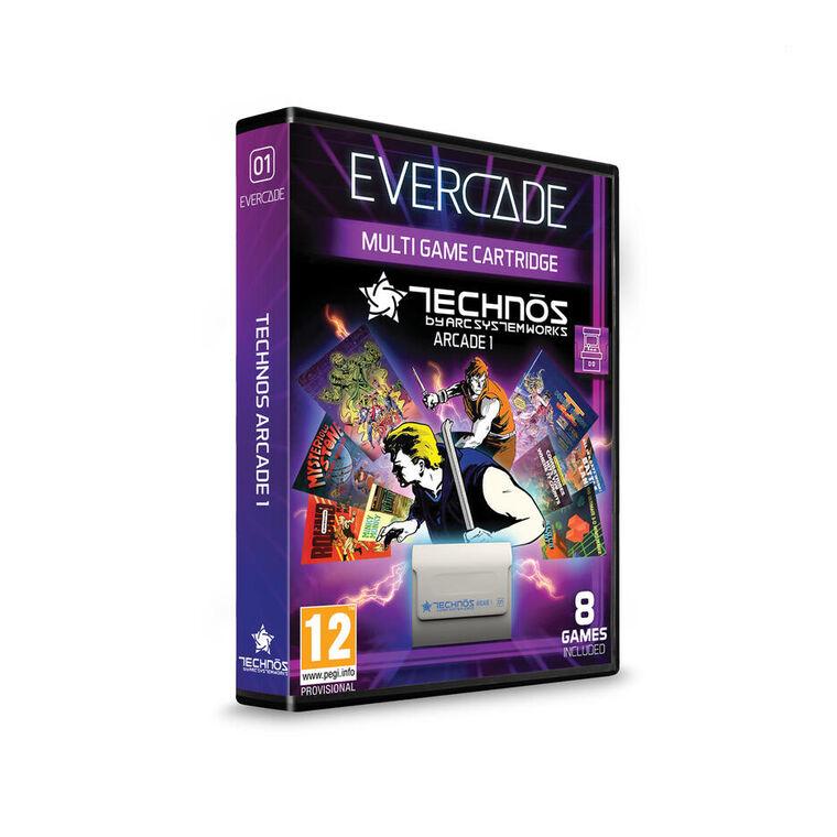 Evercade Vs Starter Pack Technos Arcade