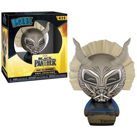 Figurine Dorbz 425 - Black Panther - Killmonger Masque