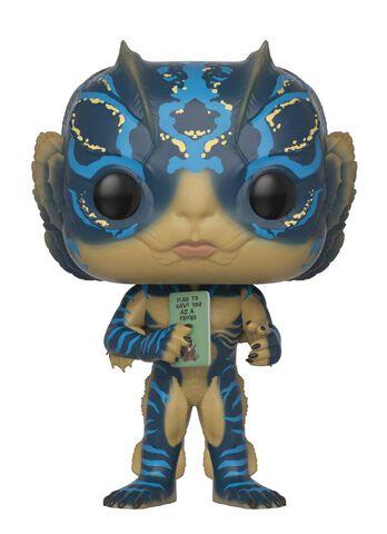 Figurine Funko Pop! N°627 - La Forme de L'eau - Homme Amphibien avec carte