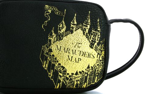 Sac A Bandouliere - Harry Potter - Carte Du Maraudeur