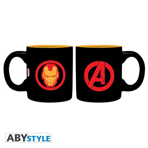 Mug - Marvel - Set De 2 Iron Man Et Spider-man 110 Ml