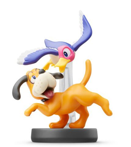 Figurine Amiibo N°47 Smash Duo Duck Hunt