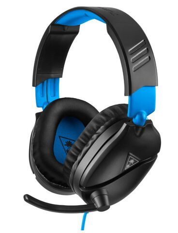 Casque Noir Turtle Beach Recon 70p Ps4/ps4 Pro