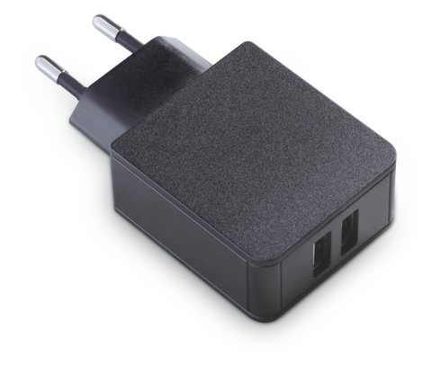 Plap Bloc Secteur Pour Cable De Charge 2 Ports Usb @play