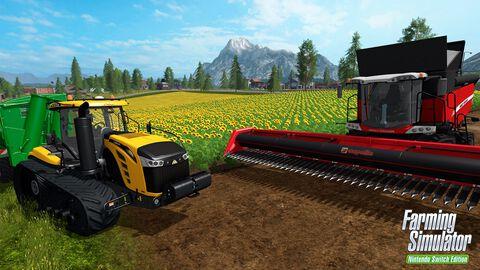 * Farming Simulator Nintendo Switch Edition