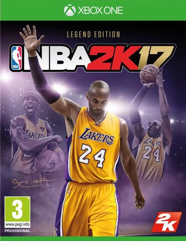 NBA 2K17 Edition Légendaire KOBE BRYANT