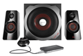 Enceinte Gaming Gxt38 2.1 Ultimate Bass