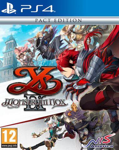 Ys IX Monstrum Nox Pact Edition