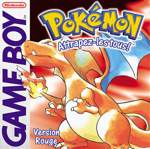 Pokémon Version Rouge (GB)