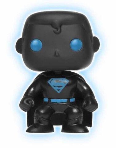 Figurine Funko Pop! N°07 - Justice League - Superman Silhouette Gitd