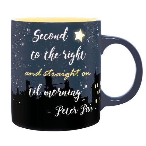 Mug - Peter Pan - Deuxième étoile à droite 320 ml