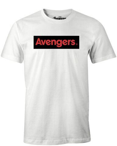 T-shirt Homme - Avengers - Endgame Logo Avengers - Blanc - Taille L