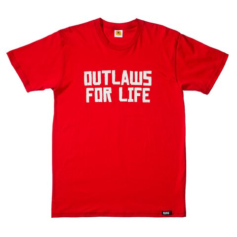 T-shirt - Red Dead Redemption 2 - Outlaws For Life Taille M (exclu Gs)