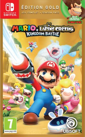 Mario + Les Lapins Cretins Kingdom Battle Gold