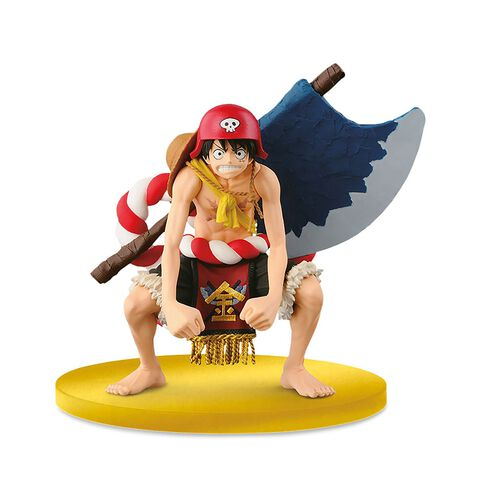 Figurine - One Piece - Scultures Big Zoukeio Special Luffy