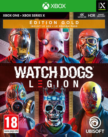 Watch Dogs Legion Edition Gold - Versions Xbox Series et