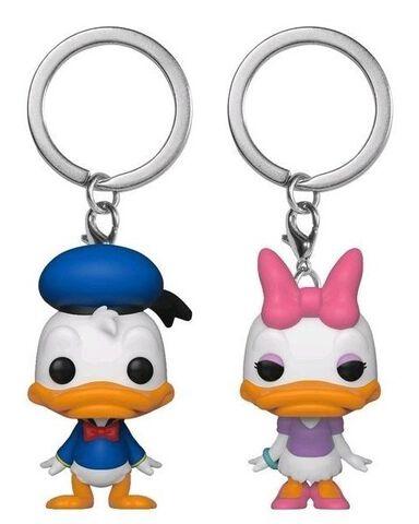 Porte-clés - Disney - Twin-pack Pop Donald et Daisy