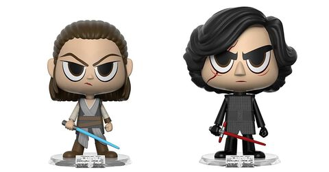 Figurine Vynl - Star Wars - Episode VIII Rey Et Kylo
