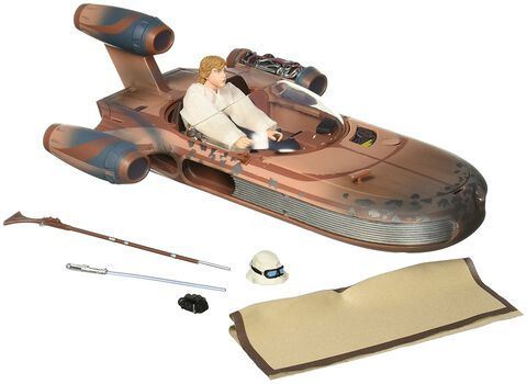Figurine - Star Wars - Luke et son Landspeeder (sdcc)