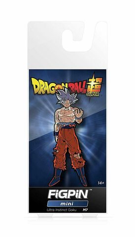 Figpin Mini - Dragon Ball Super - Ultra Instinct Goku