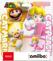 Pack 2 Amiibo Mario Chat & Peach Chat