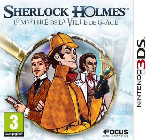 Sherlock Holmes : Le Mystère De La Ville De Glace