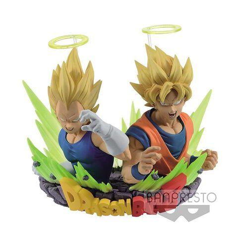 Statuette - Dragon Ball Z - Ss Goku & Ss Vegeta