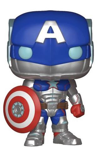 Figurine Funko Pop! N°299 - Marvel Tournoi des Champions - Civil Warrior