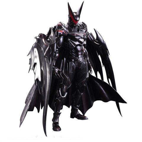 Figurine Variant Play Arts Kai  - Dc Comics - Batman By Tetsuya Nomura 31 Cm