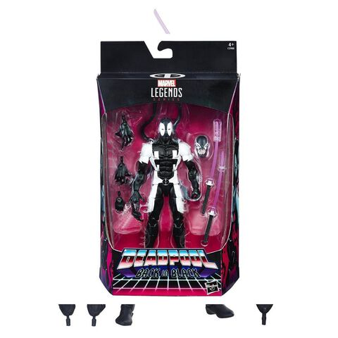 Figurine - Marvel - Legend Deadpool 15 cm Back In Black