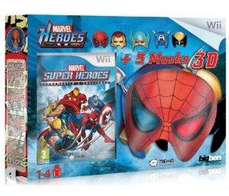 Marvel Grand Master Challenge + 5 Masques Avec Lunettes 3d Intégrées