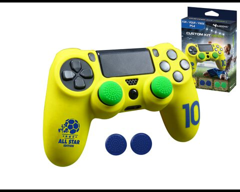 Custom Kit Football Jaune
