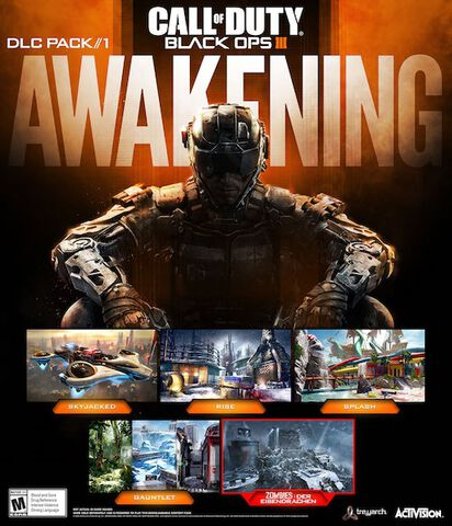 DLC 1 - Call of Duty : Black Ops III Awakening - PS4