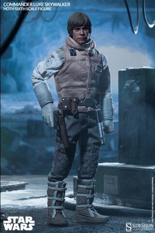 Statuette - Star Wars - Commander Luke Skywalker Hoth 30 Cm