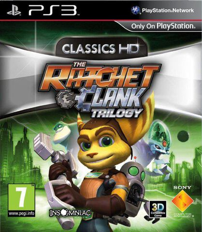 The Ratchet & Clank Trilogy Hd Collection