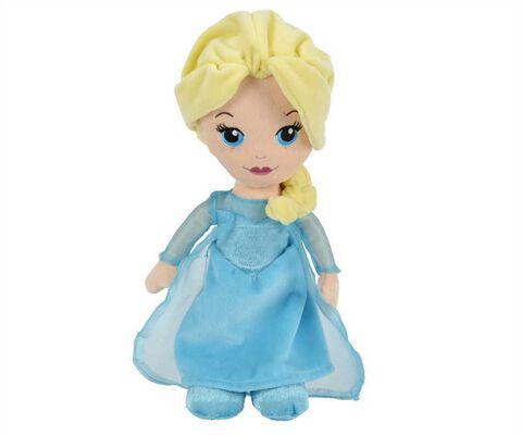 Peluche - Reine des Neiges - Elsa 25 cm
