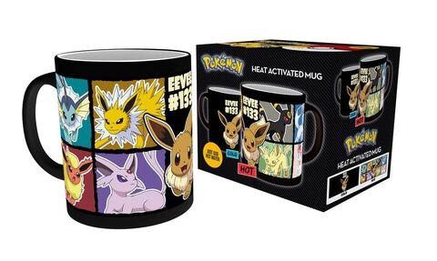 Mug - Pokémon - Heat Change Evoli et ses évolutions - Exclusif Micromania