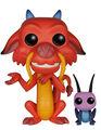 Figurine Funko Pop! N°167 - Mulan - Mushu & Cricket