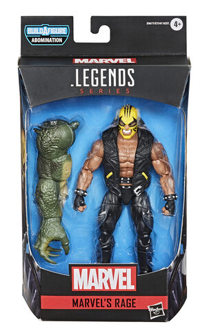 Figurine - Marvel Legends Series Gamerverse - Marvel's Rage