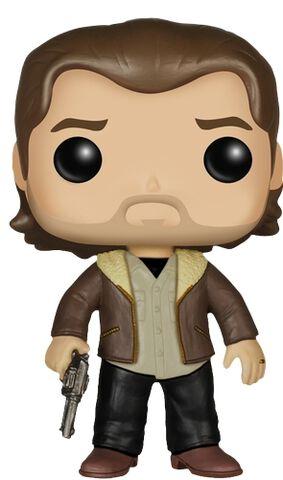 Figurine Funko Pop! N°306 - The Walking Dead - S5 Rick Grimes