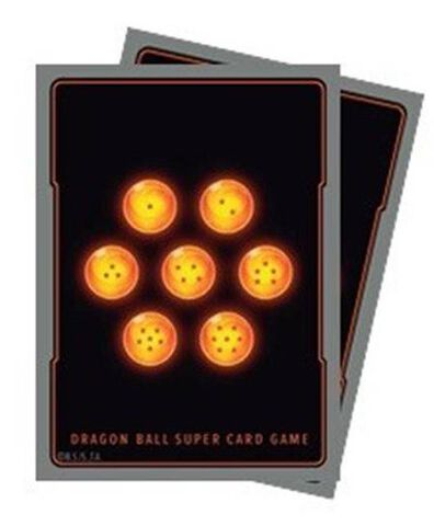 Protège cartes (65) -  Dragon Ball Super - 7 Boules de Cristal